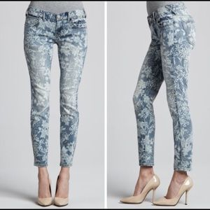 Free People Floral print Jeans Size 26